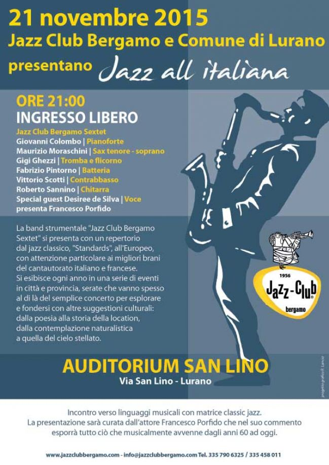 Jazz all'italiana a Lurano